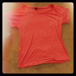 See through t-shirt